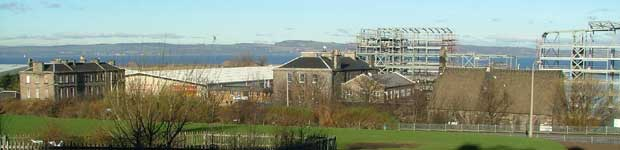 Looking over Granton Harbour in 2005